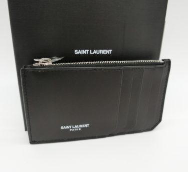 【今週の海外仕入れ】サンローラン高品質レザーカードケース